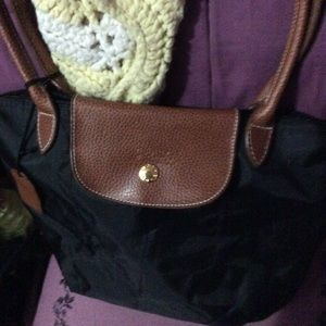 NWT long champ bag